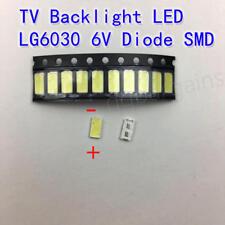 Repair LG TV Backlight LED 6030 6V Samsung Vizio RCA Lamp Beads Strip 10PCS