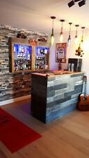 Home Bar Bespoke Bar Design Service -  Log Cabin, Cocktail Bar, Games Room