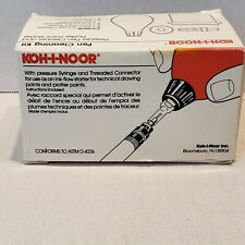 Koh-I-Noor Pressure-Bulb Kit & Cleaning Solution for Plotter & Rapidograph Pens