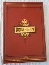 Vintage The Complete Poetical Works Of Henry Wadsworth LongFellow 1876