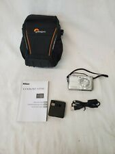 Nikon COOLPIX S3700 20.1MP Digital Camera - Silver