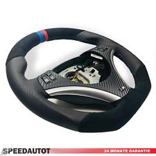 ABGEFLACHT LEDERLENKRAD BMW M-POWER E81 E82 E84 E87 E88 E90 E91 3 Str.