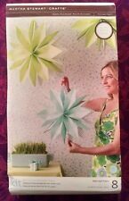 NEW Martha Stewart Crafts Large Green and Blue Paper Flowers
