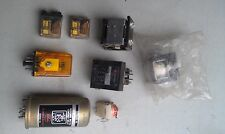 5Ll88 Assorted Relays, 8 Pcs, 1 New In Pouch, Good Condition