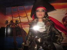 PIRATE BARBIE BRINGING CHIC TO THE HIGH SEAS NRFB!!
