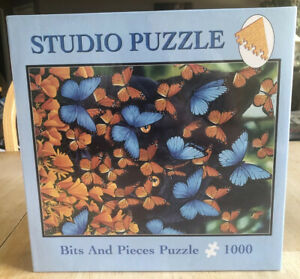 Bits And Pieces Butterfly Puzzle 1000 Pc Jigsaw