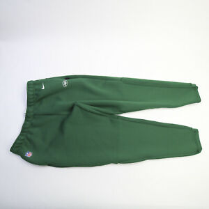 New York Jets Nike Dri-Fit Athletic Pants Men's Green Used