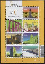 Portugal-2007-Mini Sheet.38- 7 Wonders Of Portugal Iii-7 Dif. Stamps-3588/94