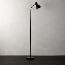 John Lewis Floor Lamp - Black Contemporary Style Home Light - 5 Year Guarantee