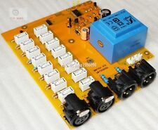 Assembled Relay Volume Control Board / Balanced Potentiometer / Balanced preamp