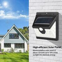 Wasserdichte 40 LED Solar Power PIR Bewegungsmelder E0K8 Wandleuchte Garten F8L0