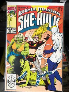 Sensational She-Hulk #23 Naked Censored She Hulk Cover! Blonde Phantom Returns!