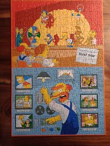 The Simpsons Talent Show & Willie's Basement Jigsaw Puzzle 300 pce complete 2009
