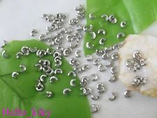 800 pcs 18KGP crimp beads covers 3mm M2634