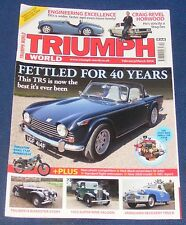 TRIUMPH WORLD FEBRUARY/MARCH 2014 - FETTLED FOR 40 YEARS