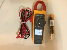 USED FLUKE 373 TRUE RMS AC/DC, CLAMP METER + MORE  SN:28180612  TP#217382 GREAT!