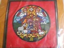 The Creative Circle Shining Nativity Crewel Kit 2301 From 1983