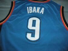 SERGE IBAKA OKLAHOMA CITY Basketball THUNDER JERSEY YOUTH Medium 10-12 Adidas