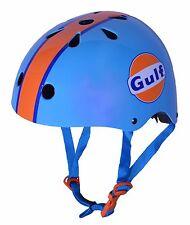 Kiddimoto GULF OIL Helmet, Balance Bike, Skate, BMX (size Medium)