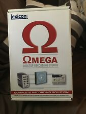 Lexicon Omega Digital Recording Workstation and Cubase LE and Reverb Plug-in