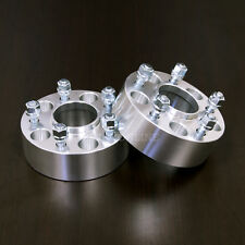 "38mm (1.5"") Hubcentric Wheel Spacers - 5x100 to 5x100, 57.1 bore, 12x1.5 Studs"