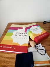Chakra Wisdom Oracle Cards + Chakra Pendulum Kit + Journal