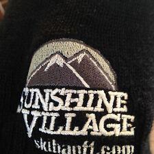 Sunshine Village Banff Beanie Canada Ski Snowboard Hat Black One Size Mens