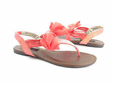 """Flat 0 to 1/2"""" Women's T-Strap Sandals"""