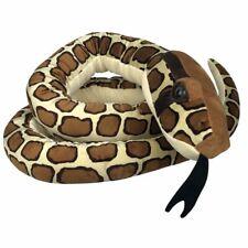 "Jumbo Burmese Python Snake Soft Toy 18""/275cm Stuffed Animal Wild Republic"