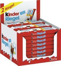 (1000g=11,89€) Ferrero Kinder Riegel 2er 24 Stück je 2 Schokoriegel - 48 Riegel