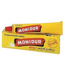 MONIDUR POLISH TUBE 100 gr POUR METAUX ELIMINE LES RAYURES