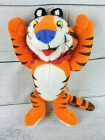 "1997 Tony The Tiger Plush 9"" Stuffed Animal Kellogg's Frosted Flakes Vintage"