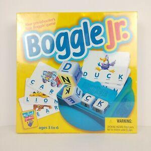Vtg. 1998 Parker Brothers Boggle Jr Preschool Educational Learning Spelling Game