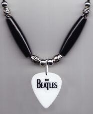 Cheap Trick Tom Petersson Beatles White Guitar Pick Necklace - 2009 Tour