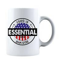 Flag Essential Employee 2020 Ceramic Coffee Mug Tea Cup