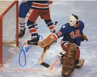 JIM CRAIG SIGNED AUTOGRAPH TEAM USA 1980 OLYMPICS MIRACLE ON ICE 8X10 PHOTO #2