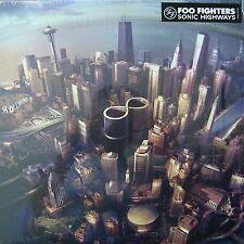 FOO FIGHTERS 'SONIC HIGHWAYS' BRAND NEW SEALED LP