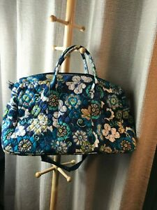 Vera Bradley Mod Floral Blue Satchel- New with Tags