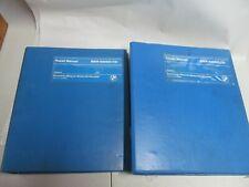 GENUINE BMW 630-633 CSI REPAIR MANUALS VOLUME 1 & 2 ORDER NO ---01 51 9 599 557
