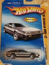 Hot Wheels 2010 '81 DeLorean Dmc-12 #015 Silver