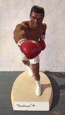 RARE Muhammad Ali AUTOGRAPH STATUE Signed Salvino Figure AUTO Boxing AUTOGRAPHED
