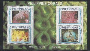 Philippines #2293 MNH S/S CV$5.75 Corals