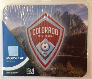 COLORADO RAPIDS FC Wincraft Sports MLS Mouse Pad
