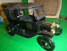Franklin Mint 1913 Ford Model T Touring Sedan Collectors  1/16 Die-Cast Scale