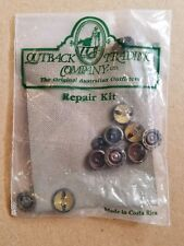 Australian Outback Collection Canvas Western Coat Replacement Snaps Repair Kit