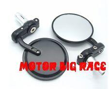 Coppia Universale Moto Manubrio Specchietto Retrovisore Bar End 7/8'' 22mm M77