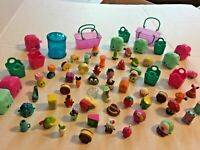 Shopkins Cases Baskets Bins Figures Huge Lot #8  FREE SHIPPING SKU 036-50