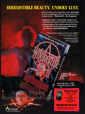 WITCHCRAFT II: The TEMPTRESS__Original 1990 Trade print AD promo__DELIA SHEPPARD