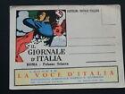 """M. DUDOVICH """"IL GIORNALE D' ITALIA"""" 1928/30 - CARTOLINA NUOVA.BB!!"""