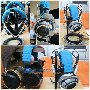 Hand Woven Pure Wool Headband Cushion For HD700 HD800 HD 700 800 Headphones